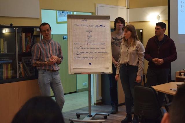 Knafaim Idea Generation Workshop in Moscow