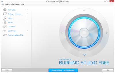 Aplikasi burning CD gratis dan terbaik