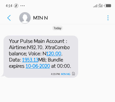 How To o Activate 4GB for N100, N120 airtime on MTN