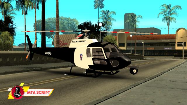 MTA:SA Polis Helikoperi Scripti
