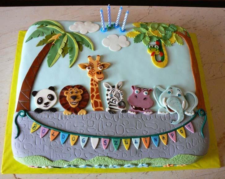 Safari Birthday Cake Design Ideas Cake Magazine
