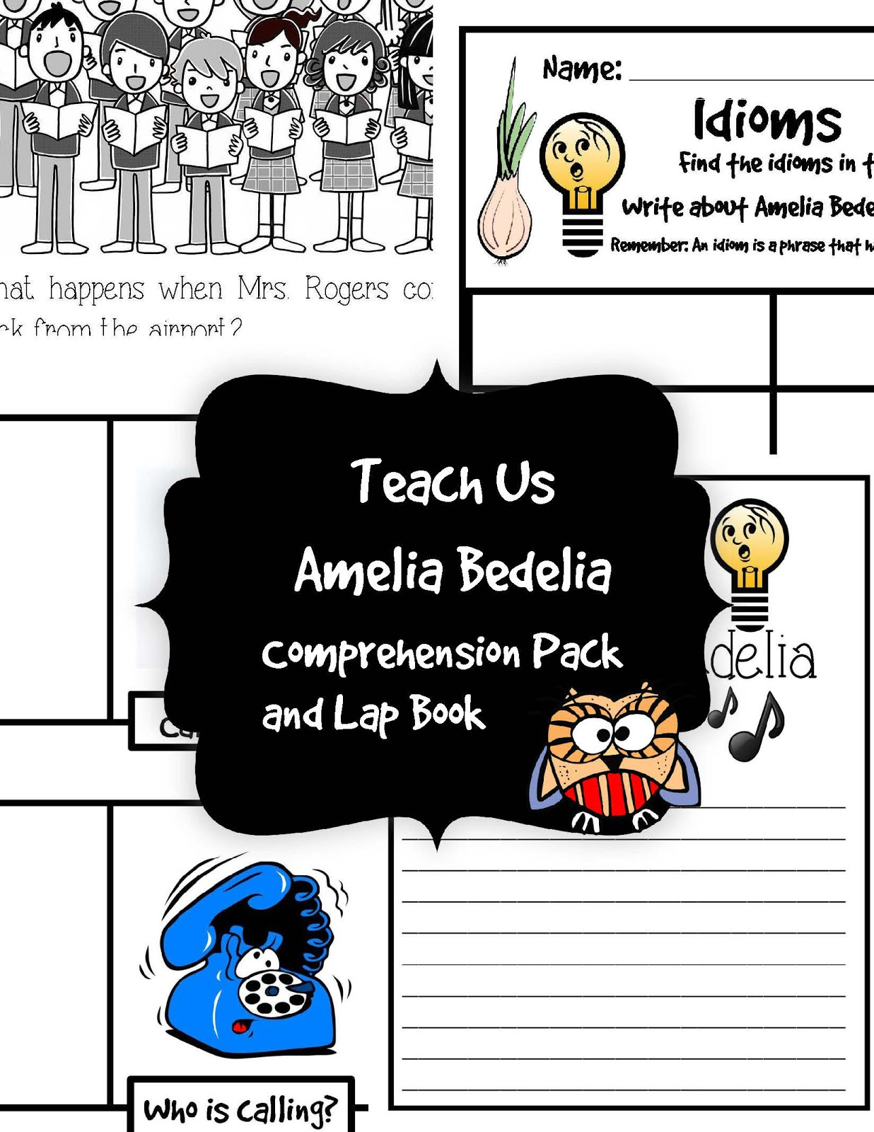 The Hermit Crabs Homeschool Teach Us Amelia Bedelia