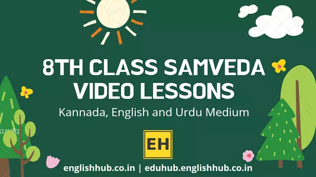 8th Class Samveda YouTube Video Lessons 2021-22