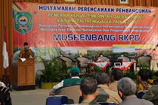 Kabupaten Trenggalek  Menggelar Musrenbang RKPD Tahun 2019