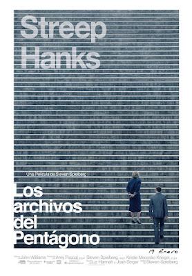 LOS ARCHIVOS DEL PENTÁGONO - cartel españa