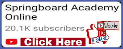 Springboard academy jaipur online classes, Springboard