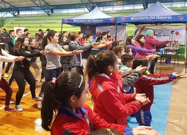 Alumnos participaron del Programa de Promoción de Actividad Física y Deporte