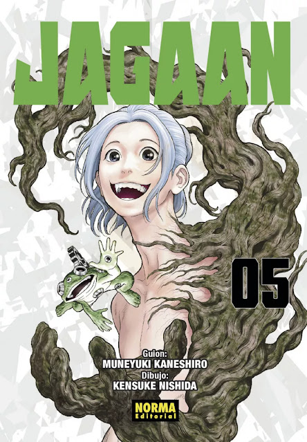 Reseña de Jagaan vol. 5 de Muneyuki Kaneshiro y Kensuke Nishida - Norma Editorial