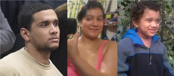 Dominicano se declara culpable de estrangular ex mujer y al hijo de ambos; enfrenta cadena perpetua