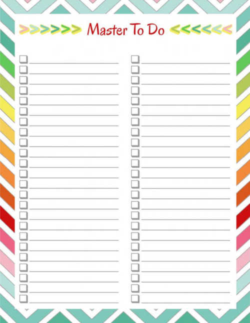 Home Management Binder - To Do Lists DIY Home Sweet Home