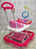 Family FB1815LD Rolex Pink Baby Walker