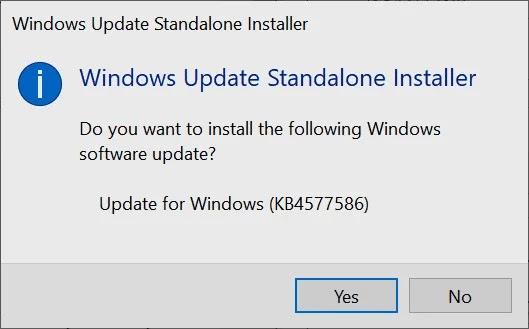 صورة موقع Microsoft Update Catalog