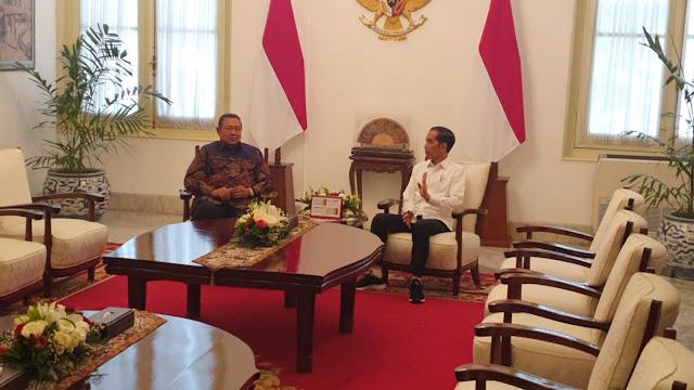 Demokrat Akui Pertemuan SBY-Jokowi Juga Membicarakan Soal Kabinet
