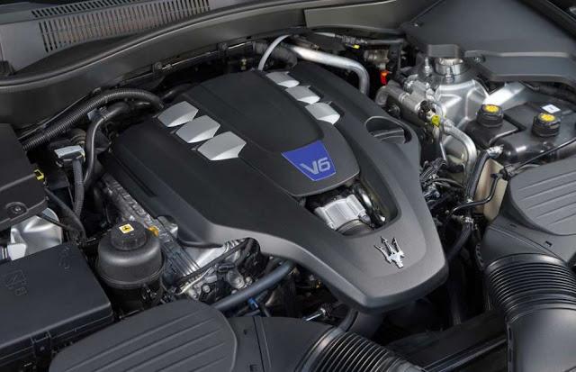 2017 Maserati Levante SQ4 Engine