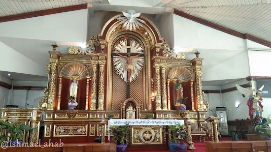 Altar of St. Michael the Archangel Chapel in Taguig City