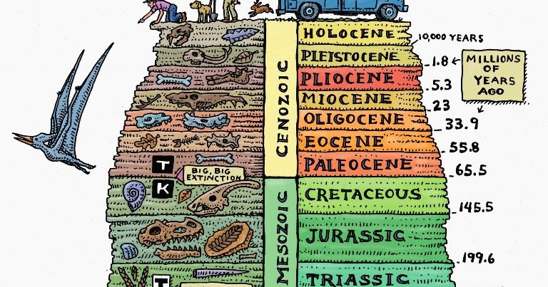 10 Interesting Facts about The geological time scale