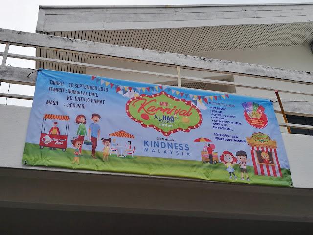 mini karnival rumah al haq kindness malaysia dato' keramat kuala lumpur