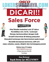 Dibutuhkan Segera di PT. Asco Prima Mobilindo (Daihatsu) Surabaya Desember 2019