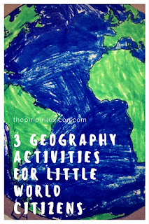geography activities for kindergarten children