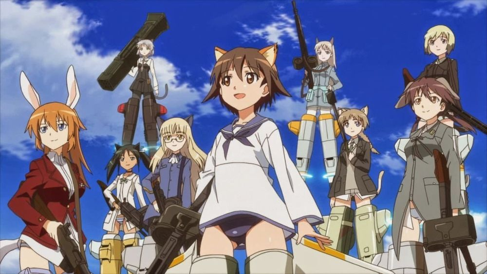 Strike Witches: 501 Butai Hasshin Shimasu! Batch Subtitle Indonesia
