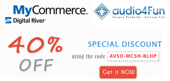 Mycommerce/Audio4fun coupon code 2014
