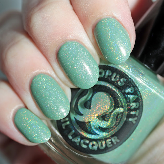 Octopus Party Nail Lacquer Chibi