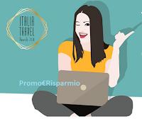 Logo Italia Travel Awards : Vota e vinci biglietti aerei ( valore 200€ )
