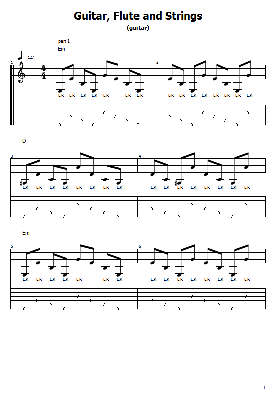 Guitar Flute and String Tabs Moby. Guitar Flute and String On Guitar/ Moby Free Tabs/ Sheet Music. Moby - Guitar Flute and String