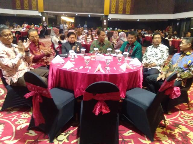 Kasrem 032/Wbr Kolonel Arh Sonny Septiono menghadiri acara malam pengantar tugas Kakanwil Kemenhumham Sumbar