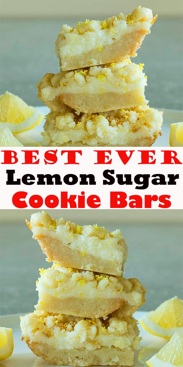 Lemon Sugar Cookie Bars #Lemon #Sugar #Cookie #Bars #LemonSugarCookieBars #cookies #dessert