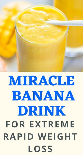 The Banana Drink For Weight Loss