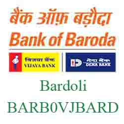 Vijaya Baroda Bank Bardoli Branch New IFSC, MICR