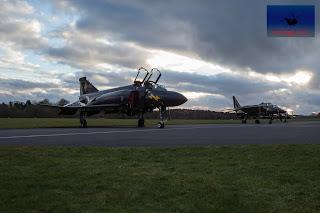 RAF McDonnell Douglas Phantom Black Mike SEPECAT Jaguar