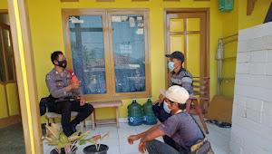Bhabin Wargamekar Baleendah Polresta Bandung, Imbau Covid-19 Terapkan 3M