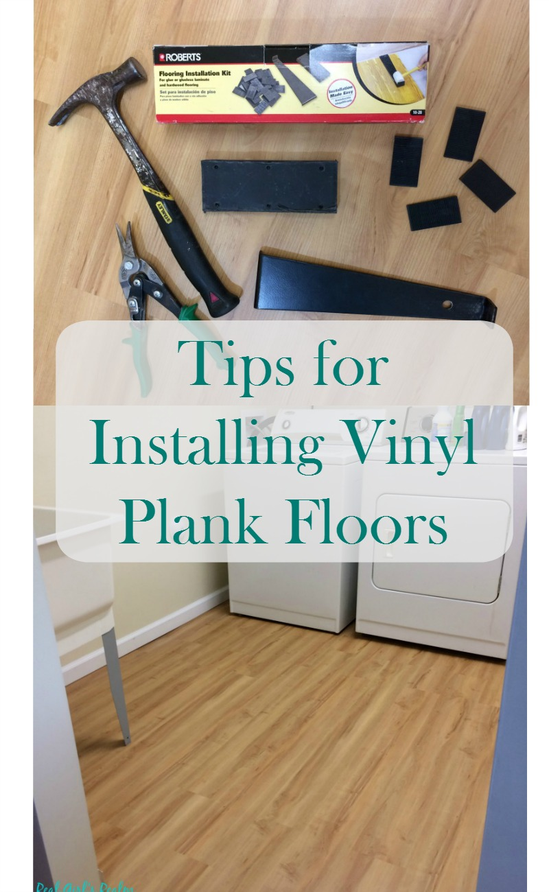 Real Girl S Realm Tips For Installing Luxury Plank Vinyl