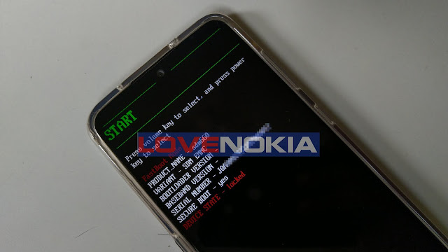 Nokia 7.2 Bootloader/Download Mode