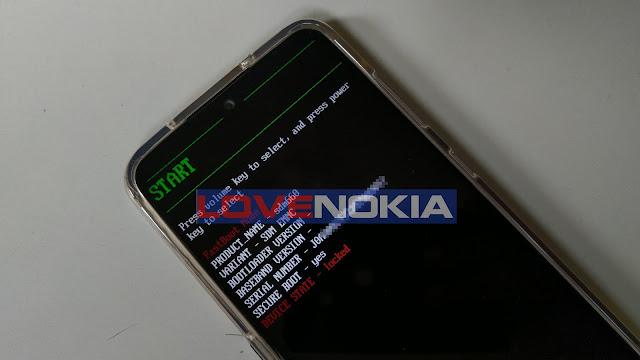 Nokia 7.2 Bootloader/Download Mode