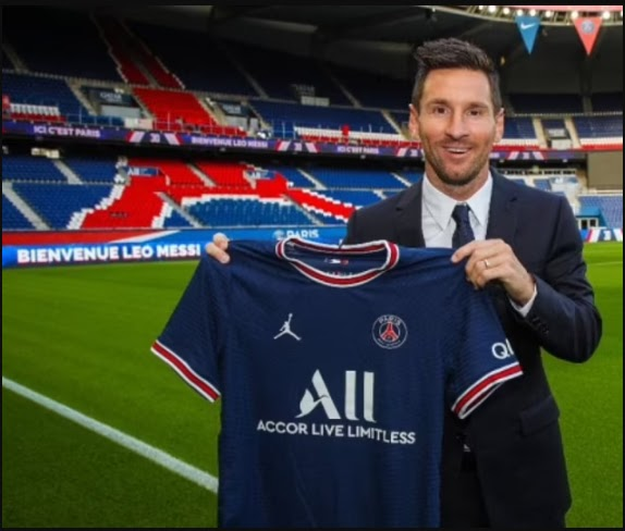 """Lionel Messi completes his sensational move to PSG on a two-year deal worth """"£1million a week"""""""