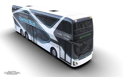 Hyundai Double-Decker Electric Bus
