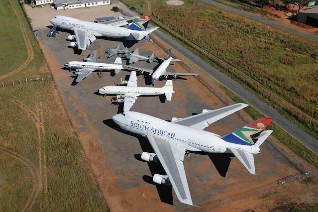 Cemitérios de aviões de passageiros, um fruto dos 'lockdowns climáticos'