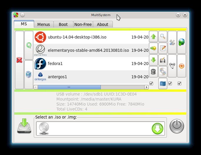 Ubuntu Buzz !: Create Multiboot OS USB with Multisystem in Linux