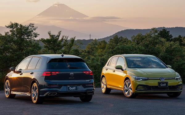 Volkswagen lança o Golf de 8ª geração no Japão - veja fotos e preços