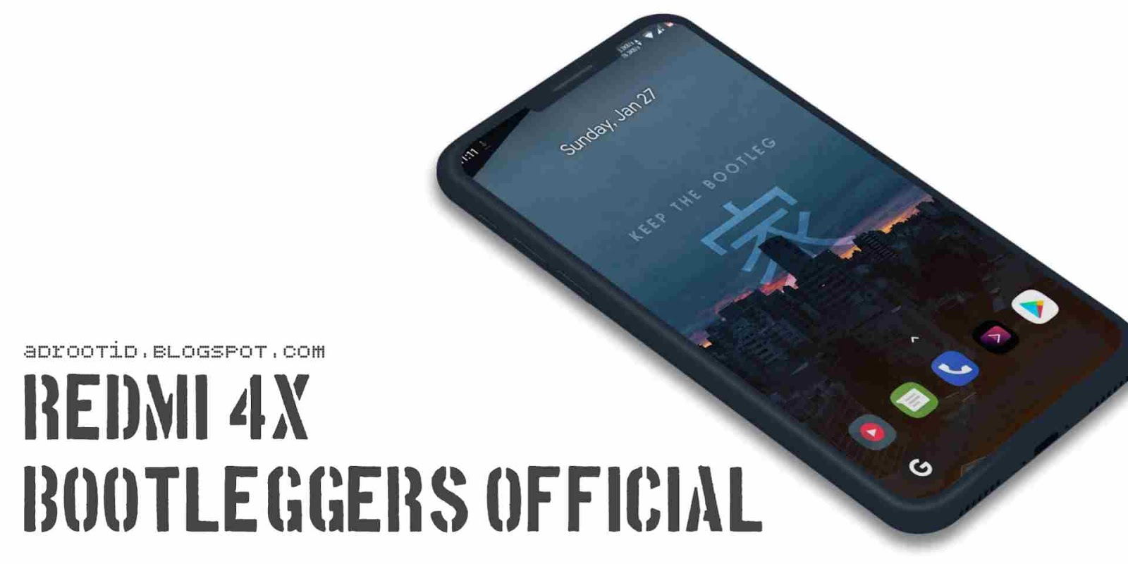 Bootleggers Ron Redmi 4X