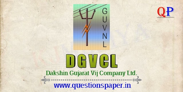DGVCL Ex. Apprentice to Vidyut Sahayak (Electrical Assistant) Question Paper (11-08-2019)