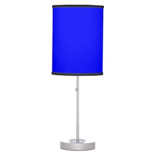 Caribbean home decor accent lamp