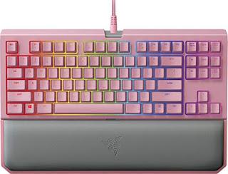 Pink Gaming keyboard