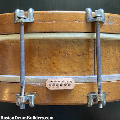 antique blair & baldwin drum
