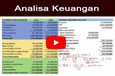 Analisa laporan keuangan - Dengan pembanding   Bagian 2