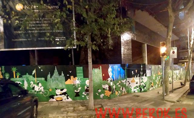 Pep Brocal Nuñez y Navarro Mural