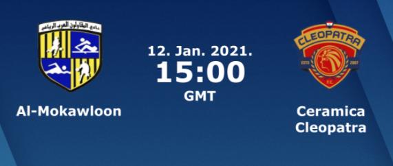 بث مباشر مباراة المقاولون العرب وسيراميكا كليوباترا